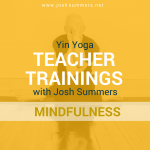 Yin Yoga Teacher Training: Mindfulness Module: Yoga Zone, Cork (Ireland) 11/16–11/19/17