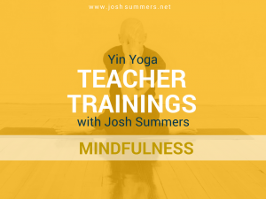 Yin Yoga Teacher Training: Mindfulness Meditation Module (50hr)