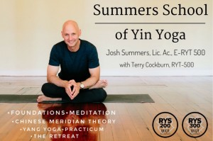 Josh Summers, Yin Yoga, Meditation, Certification, Yin Yoga Teacher Training