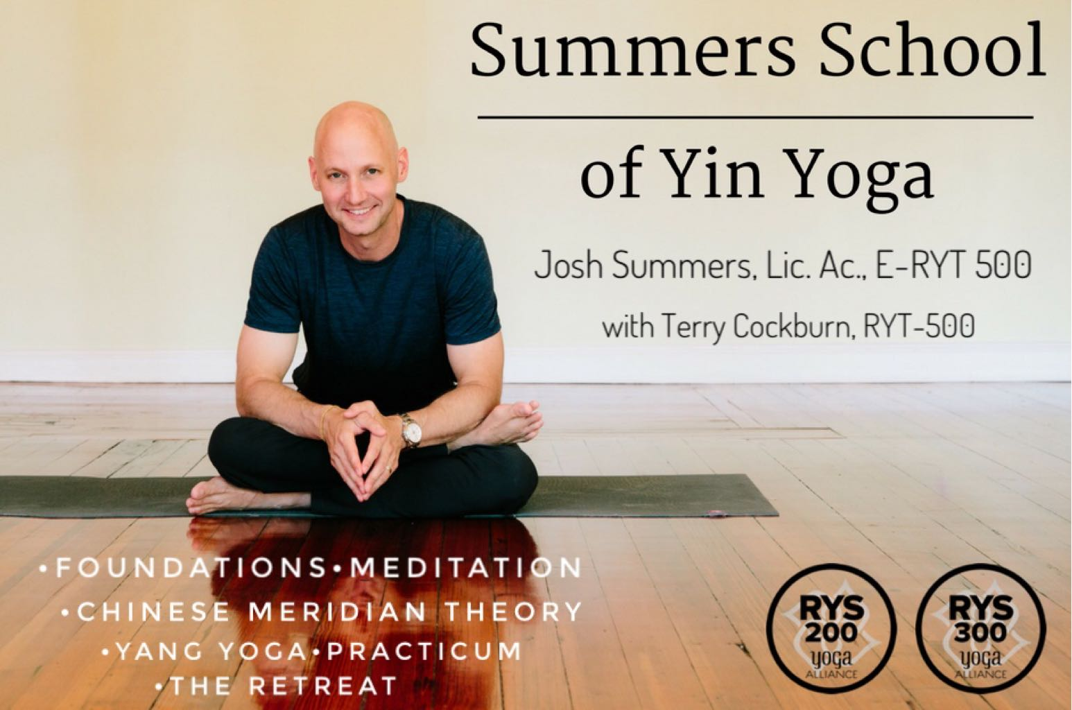 Summers School of Yin Yoga
