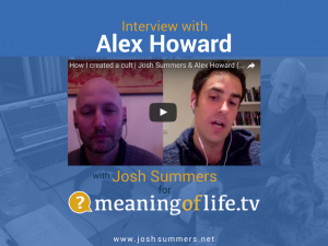 Interview with Alex Howard: On the Andrew Cohen documentary