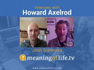Interview with Howard Axelrod: The Point of Vanishing