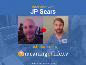Interview with JP Sears: Ultra-Spirituality and Beyond