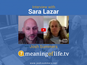Interview with Sara Lazar: Your Brain on Meditation