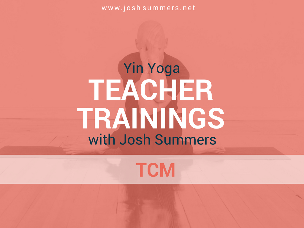 yin yoga, Chinese medicine, Qi, meridians, teacher trainings