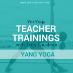 11/7 – 11/10/19: Yin Yoga Teacher Training, Yang Yoga Module with Terry Cockburn (50hr), Freedom Hall, Cotuit, MA