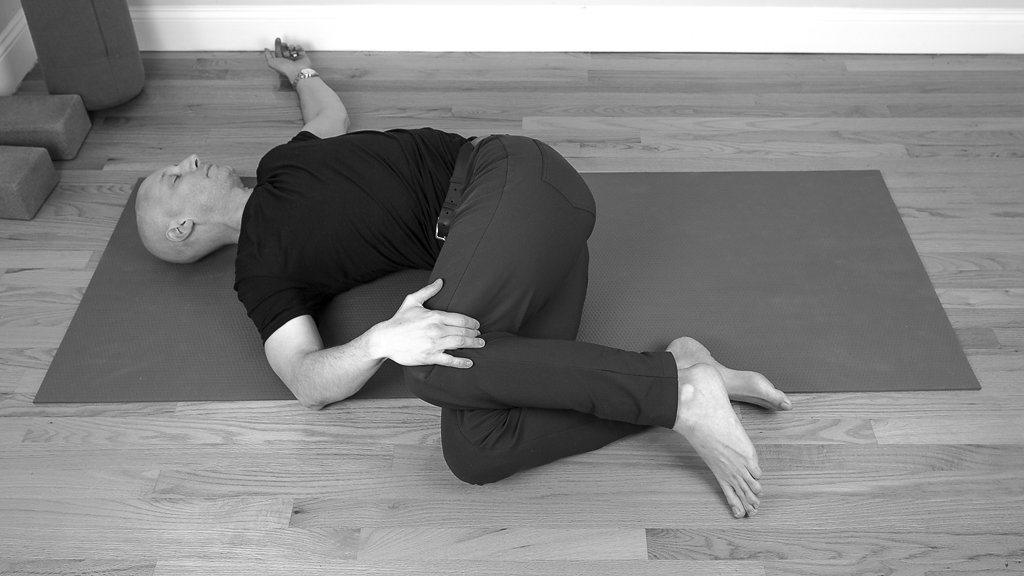 Part of a Supine Sequence for Yin Yoga by Josh Summers