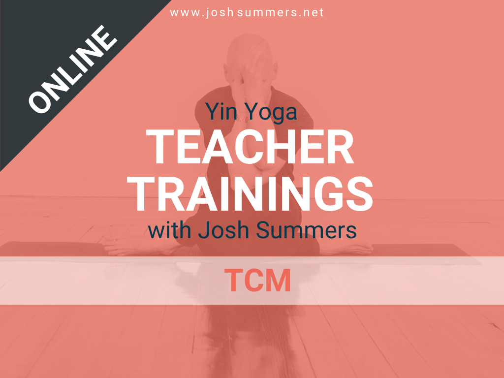 Yin Yoga Teacher Training Online Tcm Module 50hr