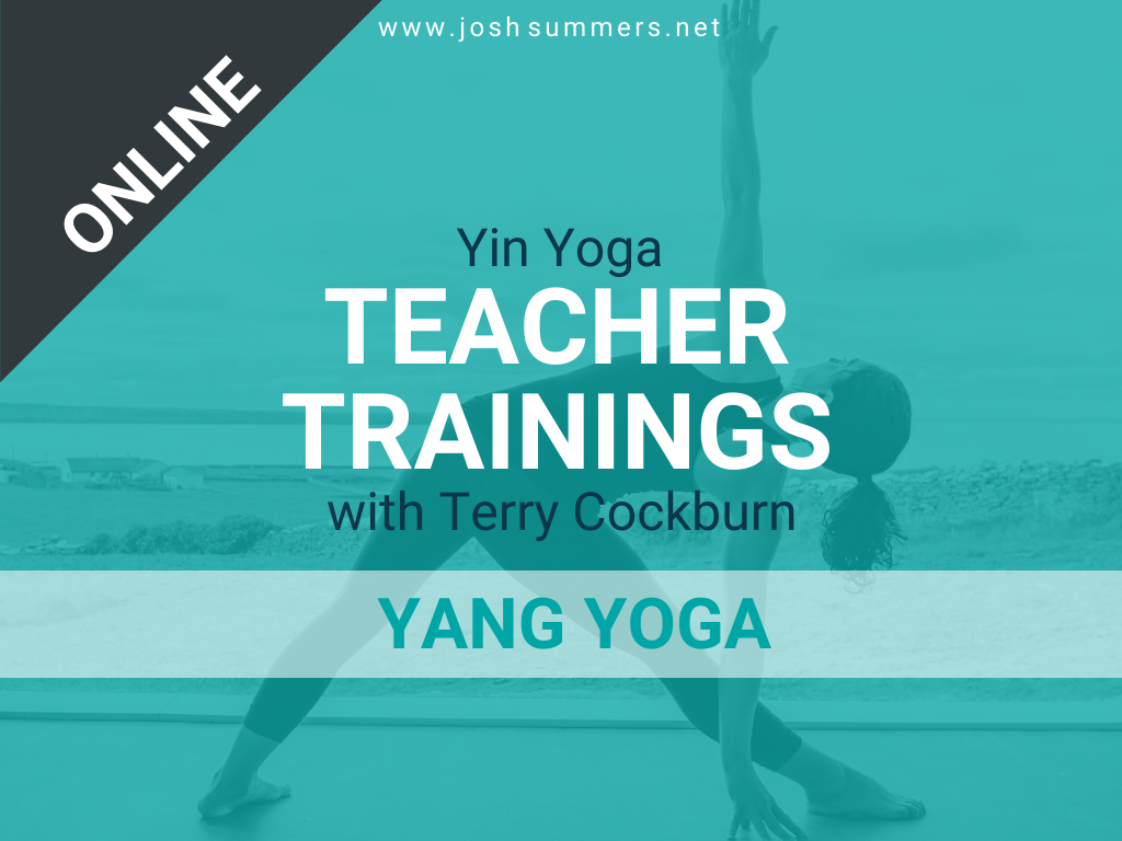 ::ONLINE TRAINING:: March 18-21, 2021: Yin Yoga Teacher Training, Yang Yoga Module with Terry Cockburn (50hr), Virtual Training Online | USA (7am to 3:30pm ET)