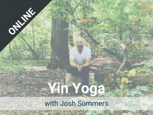 Yin Yoga with Josh: Offered each Wednesday – a live, online class via Zoom. Recorded version is available in our Sangha Library.