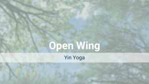 Open Wing