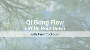 Lift Up Pour Down – Qi Gong Flow