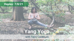 Yang Yoga with Terry – Recorded Live on July 8, 2021